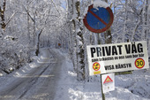 Privat väg