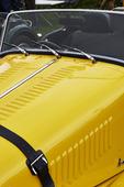 Detalj av veteranbil