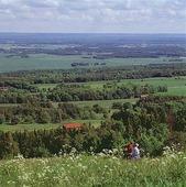 Utsikt från Kinnekulle, Västergötland