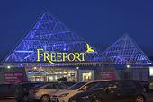 Freeport köpcentrum i Kungsbacka, Halland