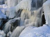 Isigt vattenfall