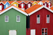 Sjöbodar i Smögen, Bohuslän