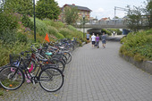 Gångväg i Kungsbacka, Halland