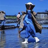 Salttillverkning av havsvatten, Mauritiu