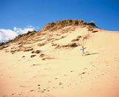 Pojke på sanddyn