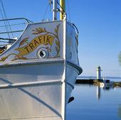 Båt i Hjo, Västergötland