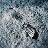 Första steget på månen