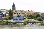 Strängnäs med domkyrkan, Södermanland
