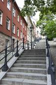 Trappa från Högbergsgatan i Stockholm