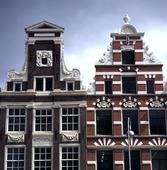 Husfasad in Amsterdam, Netherlands