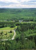 Vy vid Angnäs, Västerbotten