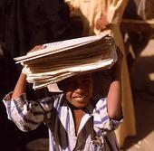 Tidningspojke, Egypten