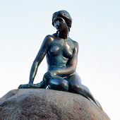 Den lille havfrue i Köpenhamn, Danmark