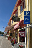 Polkagrisbutik i Gränna, Småland