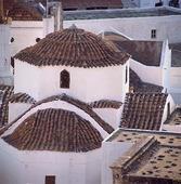 Hus på Patmos, Grekland