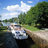 Sluss på Göta Kanal, Västergötland