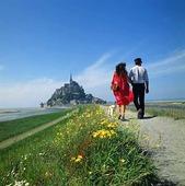 Mont Saint Michel, Frankrike