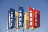 Ikea flaggor