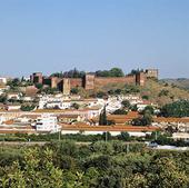 Moriska borgen i Silves, Portugal
