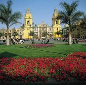 Katedralen i centrala Lima, Peru