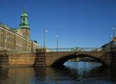 Vallgraven med Kämpebron, Göteborg