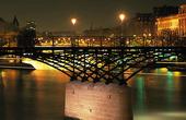 Pont des Arts i Paris,  Frankrike