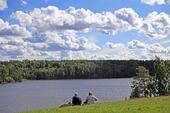 Utsikt över sjön Getaren, Tullinge