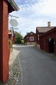 Gatumiljö i Strängnäs, Södermanland.