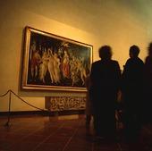 Konstmuseum i Florens, Italien