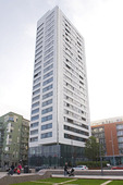 Bostadsområde i Hornsberg, Stockholm