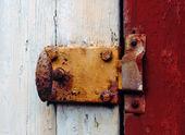 Rostigt dörrlås