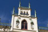 Detalj av Rådhuset på Stortorget i Örebro