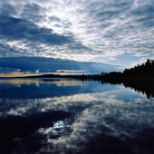 Hornavan i Arjeplog, Lappland