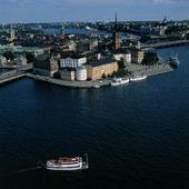 Vy över Gamla stan, Stockholm
