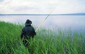Fiskare som metar