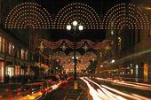 Julhandel i London, Storbritannien
