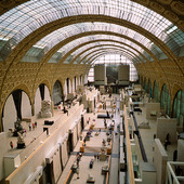 Musee de Orsay in Paris, France