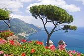 Utsikt från Ravello, Italien