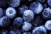 Frusna blåbär