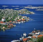 Vy från Rönnäng, Bohuslän