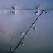 Detalj av flygplanskropp