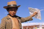 Pojke med drake i Tibet, Kina