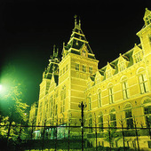 Rijkmuseet in Amsterdam, Netherlands