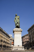 Staty Giuseppe Parini Milano, Italien