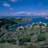 Utsikt över Rönnäng, Bohuslän