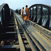 Bron över floden Kwai, Thailand