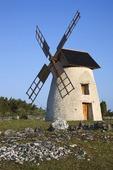 Väderkvarn på Gotland