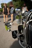 Backspeglar på Scooter