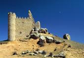 Slottsruin, Spanien