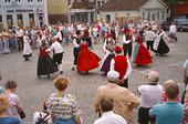 Folkdansuppvisning, Danmark